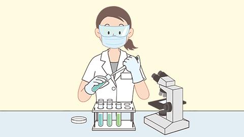 臨床検査技師のイラスト